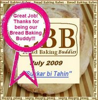 Bread Baking Buddy July